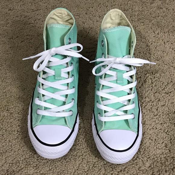 3a1bb592e867 Converse Shoes - Mint Green Converse Sneakers
